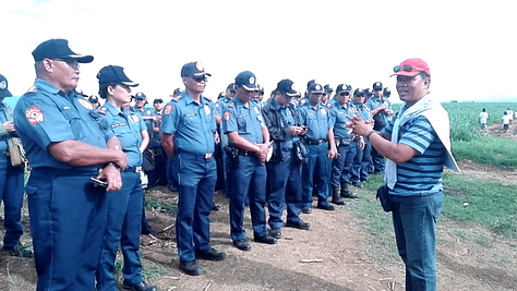 Sheriff Catingub expresses his gratitude for the support given by the PNP.